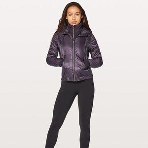 lululemon glyde scuba jacket w/ hood - size 6